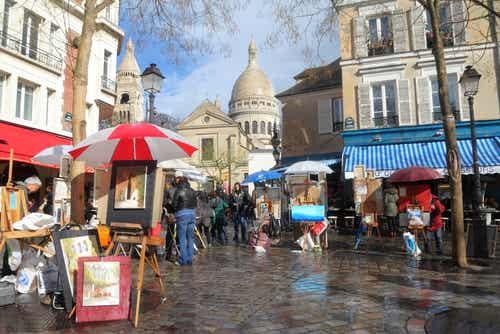 Admira el precioso barrio de Montmartre