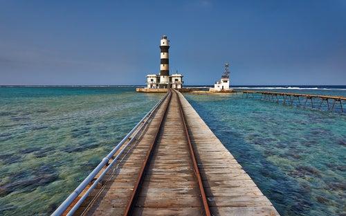 Faro del Arrecife de Deadalus