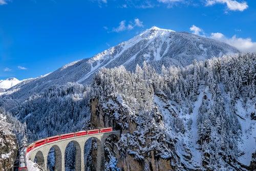 ¡Recorremos Europa en tren!