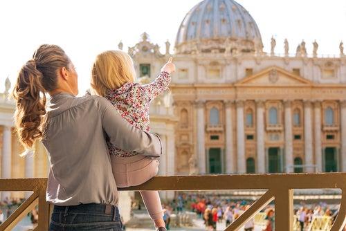 Familia en el Vaticano