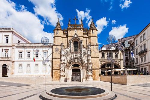 Iglesia de Santa Cruz en Coimbra