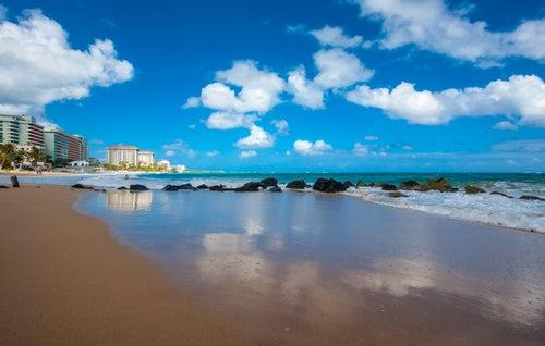 Condado Beach en Puerto Rico
