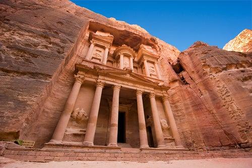 Petra, la ciudad de piedra en Jordania