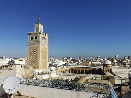 Mezquita en Túnez