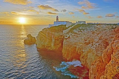 Cabo de San vicente en el Algarve