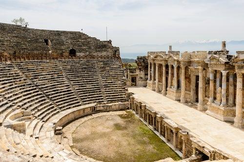 Anfiteatro de Pamukkale