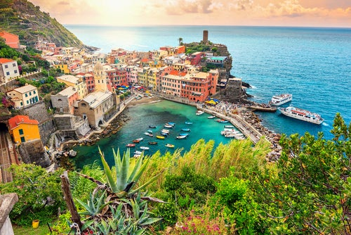 Vernazza en las Cinco Villas