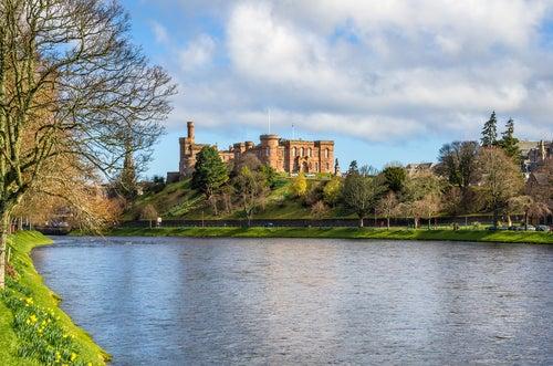 Castillo de Inverness en Escocia