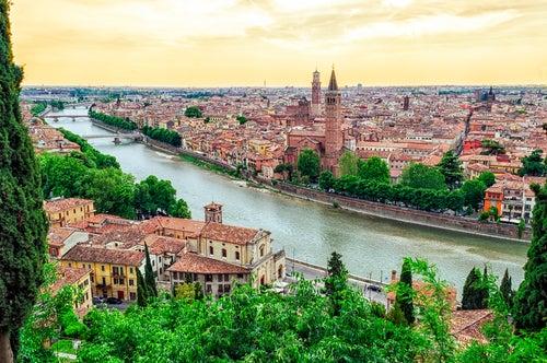Panorámica de Verona