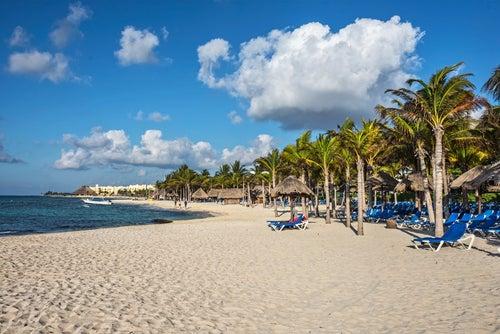 Playa del Carmen en la Riviera Maya