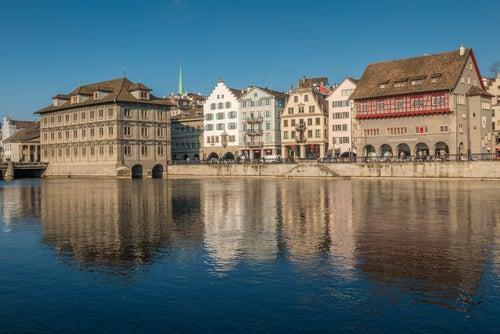 Casco histórico de Zürich