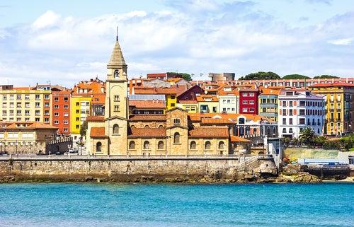 Gijón en Asturias