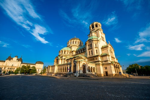 Catedral St. Alexander Nevsky en Sofía