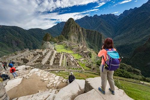 Grupo en el Machu Picchu