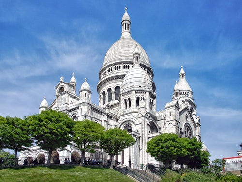 Basílica del Sagrado Corazón en Montmartre