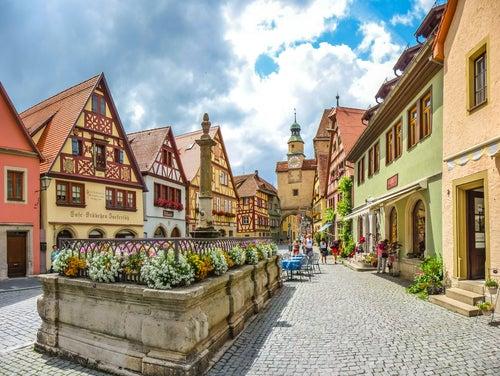Pueblos de cuento en Alemania