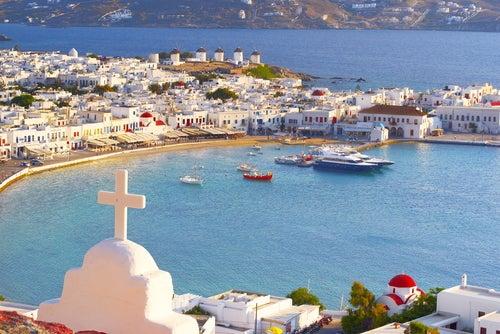 Isla griega de Míkonos