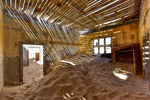 Casa abandonada en Kolmanskuppe