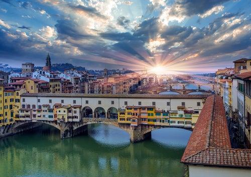 Pote Vecchio en Florencia