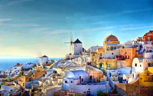 Isla griega de Santorini