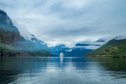 Fiordo Hardanger en Noruega
