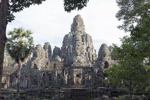 Templo de Angkor Thom en Camboya