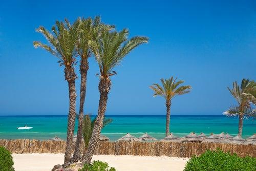 Playa de Djerba en Túnez