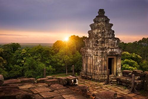 Templo Phnom Bakheng en Camboya