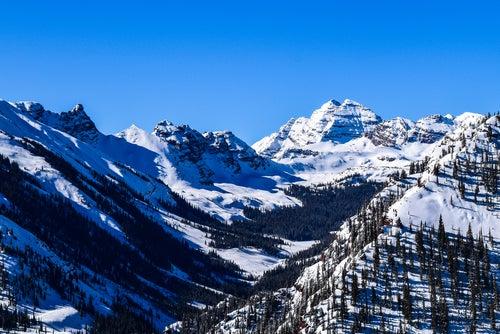 Vistas desde la estación de Aspen