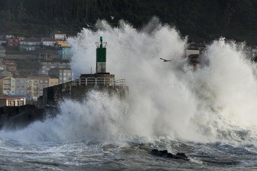 Faro de La Guardia en Galicia