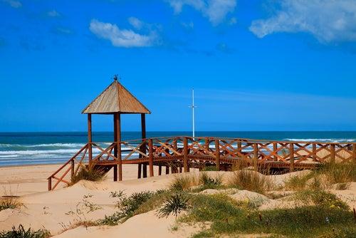 Playa de la Cortadura en Cádiz