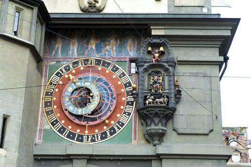Reloj medieval en Berna