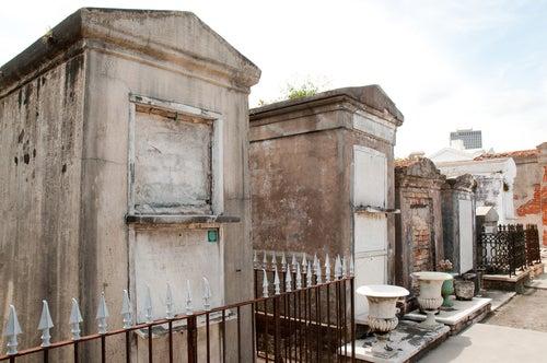Tumbas en el Cementerio de San Luis