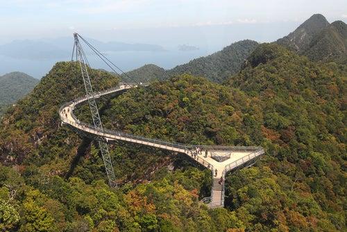 Puente Langkawi Sky en Malasia