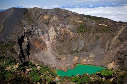 Volcán Irazu en Costa Rica