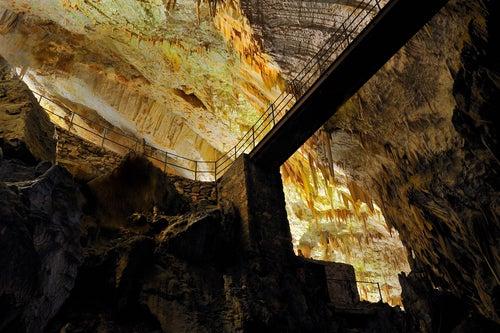 Cueva Postojna en Eslovenia