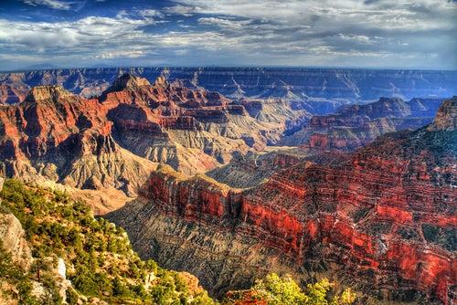 Panorámica del Gran Cañón del Colorado