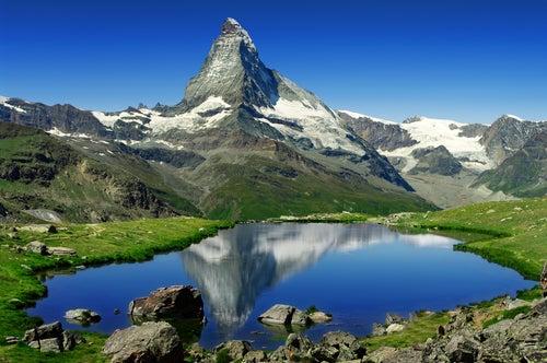 Paisaje de Suiza