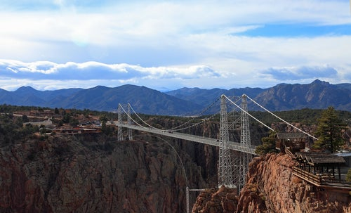 Puente Royal Gorge en colorado