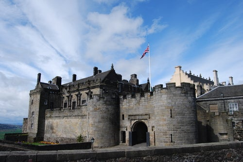 Stirling Castle en Escocia