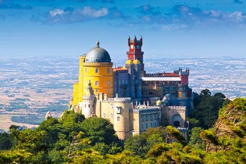 El romántico Palacio de la Pena en Portugal
