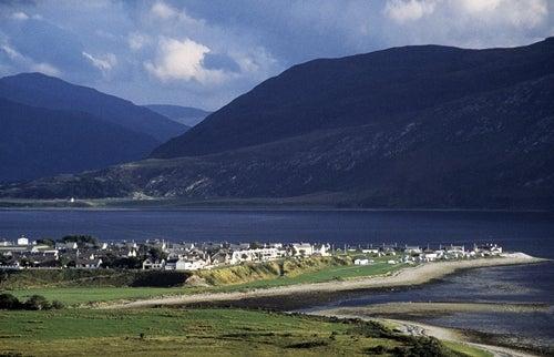 Ullapool en las Tierras Altas Escocesas