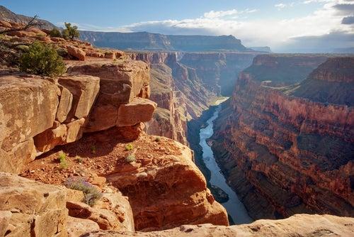 Paisaje del Gran Cañón del Colorado