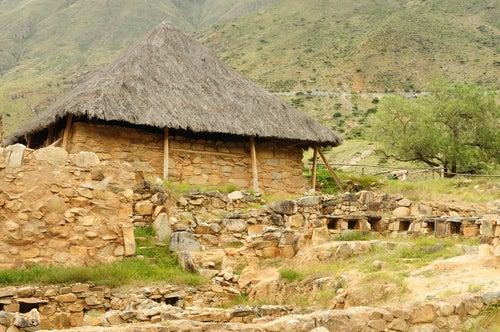 Templo de Kotosh en Perú.