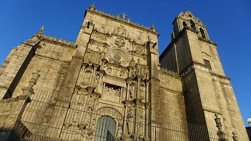 Basílica de Santa María en Pontevedra
