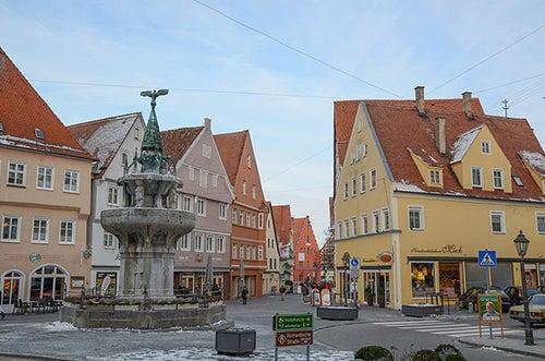 Calles de Nordlingen