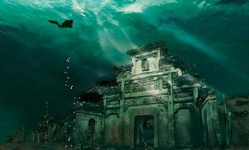 Ciudad subacuática de Shicheng
