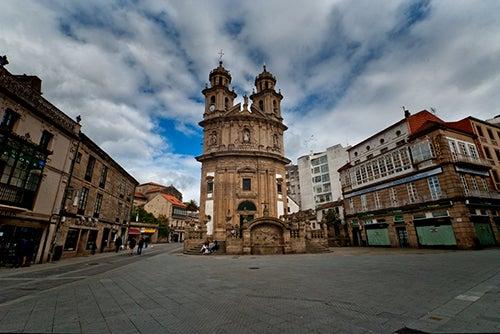 Iglesia de la Peregrina en Pontevedra