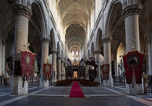 Iglesia de Sint Jacobs en Amberes