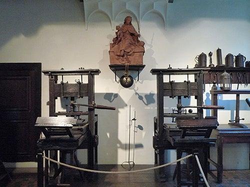 Museo Plantin Moretus en Amberes